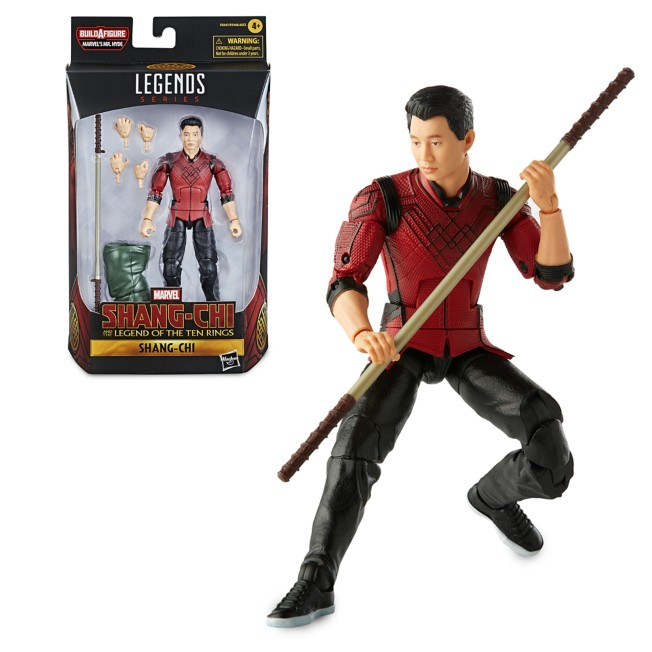Shang-Chi Action Figure – Shang-Chi and the Legend of the Ten Rings – Marvel Legends