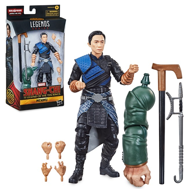 Wenwu Action Figure – Shang-Chi and the Legend of the Ten Rings – Marvel Legends