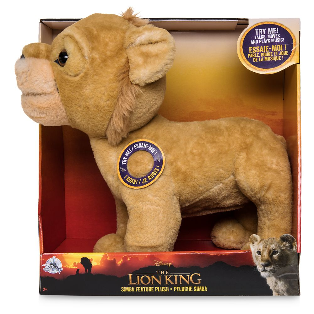 Simba Talking Plush – The Lion King 2019