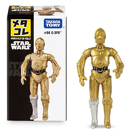 C-3PO Mini Metal Action Figure by Takara Tomy
