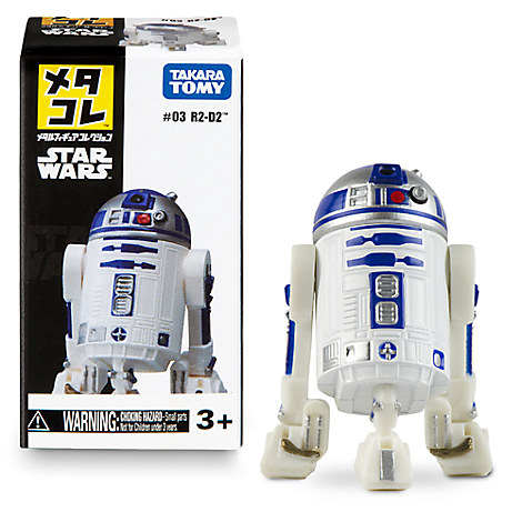 R2-D2 Mini Metal Action Figure by Takara Tomy
