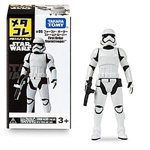 Disneystore First Order Stormtrooper Mini Metal Action Figure By