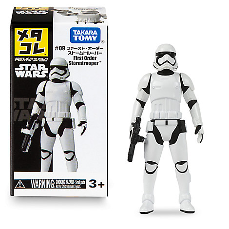 First Order Stormtrooper Mini Metal Action Figure by Takara Tomy