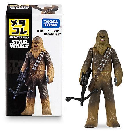 Chewbacca Mini Metal Action Figure by Takara Tomy