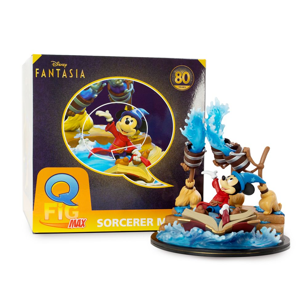 Sorcerer Mickey Q-Fig Max – Fantasia 80th Anniversary