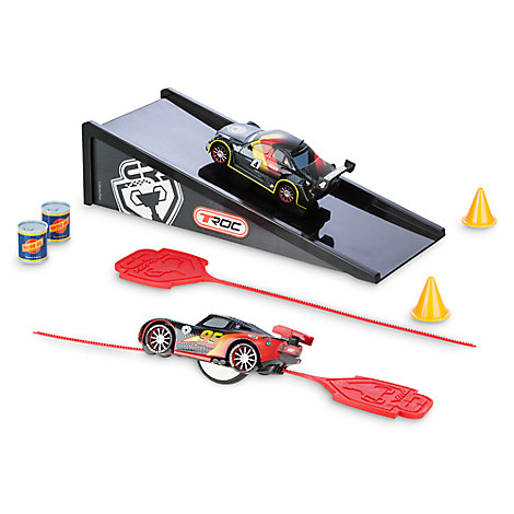 Cars Rip N' Release Racers Play Set - Lightning McQueen and Max Schnell