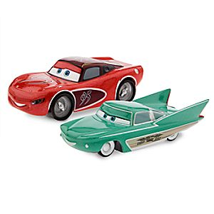 Lightning McQueen & Flo Die Cast Set