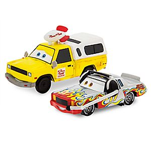 Darrell Cartrip & Pizza Planet Die Cast Set