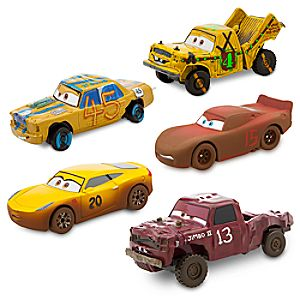 Cars 3 Deluxe Die Cast Set - Crazy 8 - 5-Piece