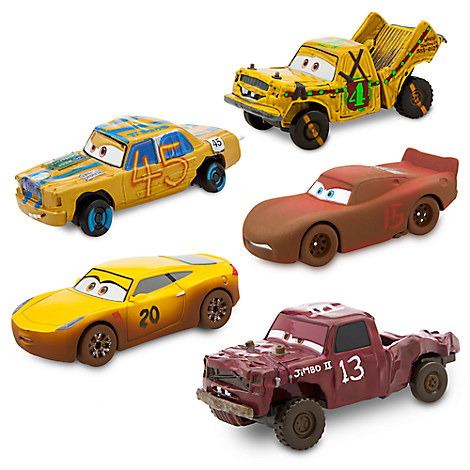 Cars 3 Deluxe Die Cast Set - Crazy 8 - 5-Piece
