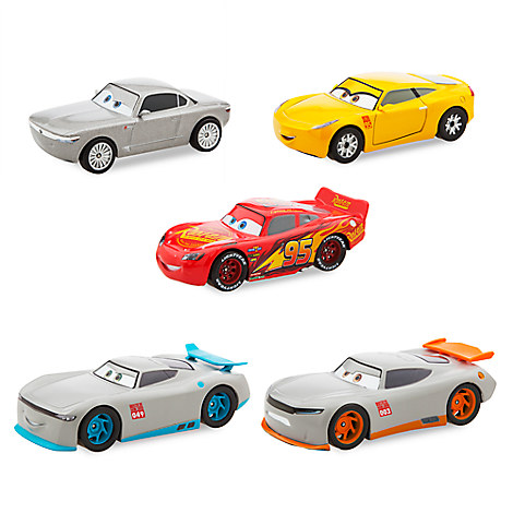 cars 3 deluxe die cast set next gen 5 piece disney store. Black Bedroom Furniture Sets. Home Design Ideas