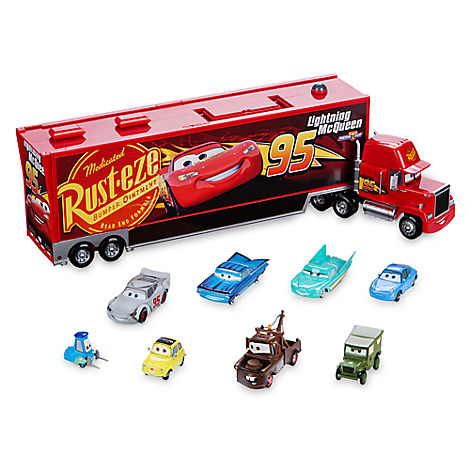 Mack Die Cast Carrier 8-Car Set - Cars 3