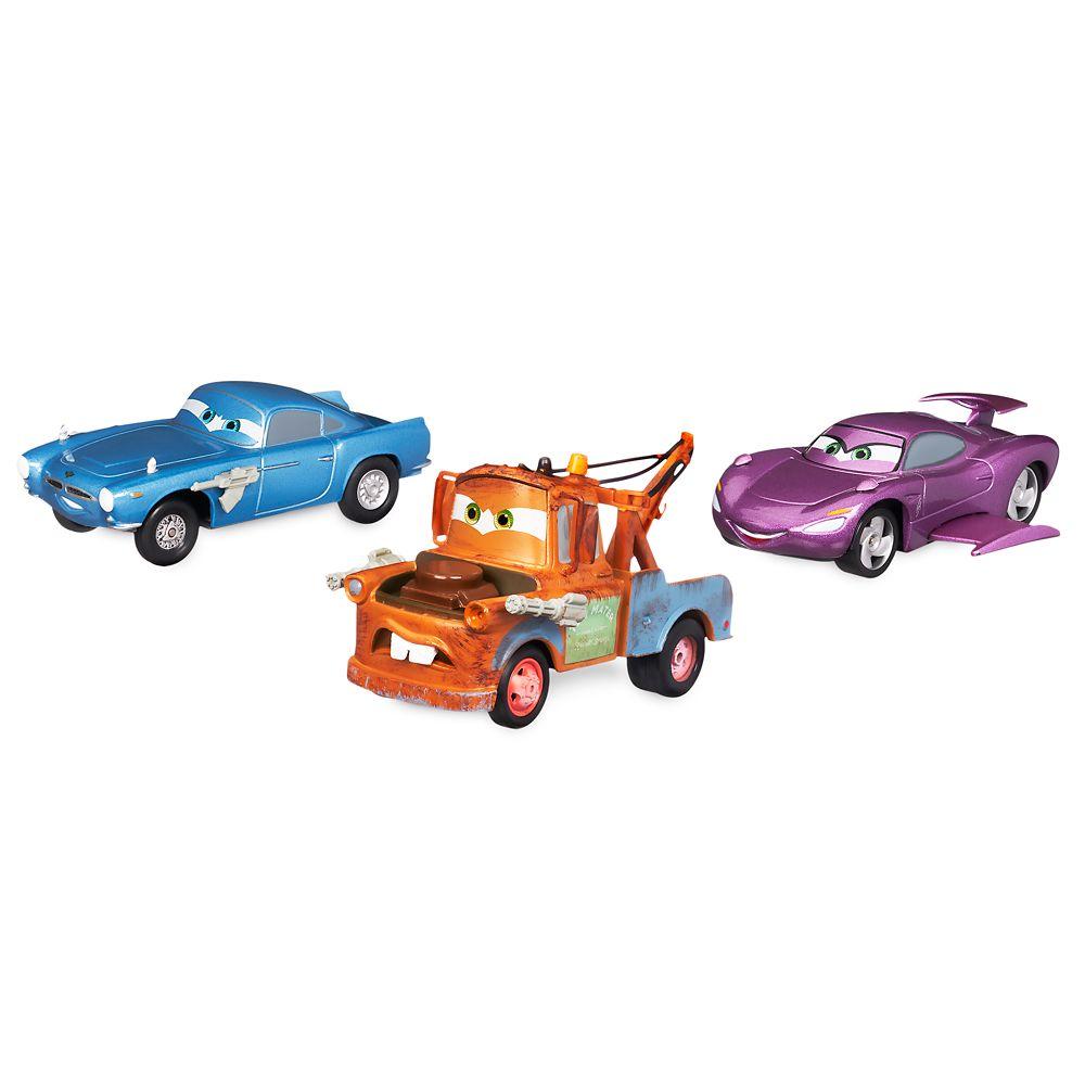 Cars Secret Agents Pull 'n' Race Die Cast Set Official shopDisney