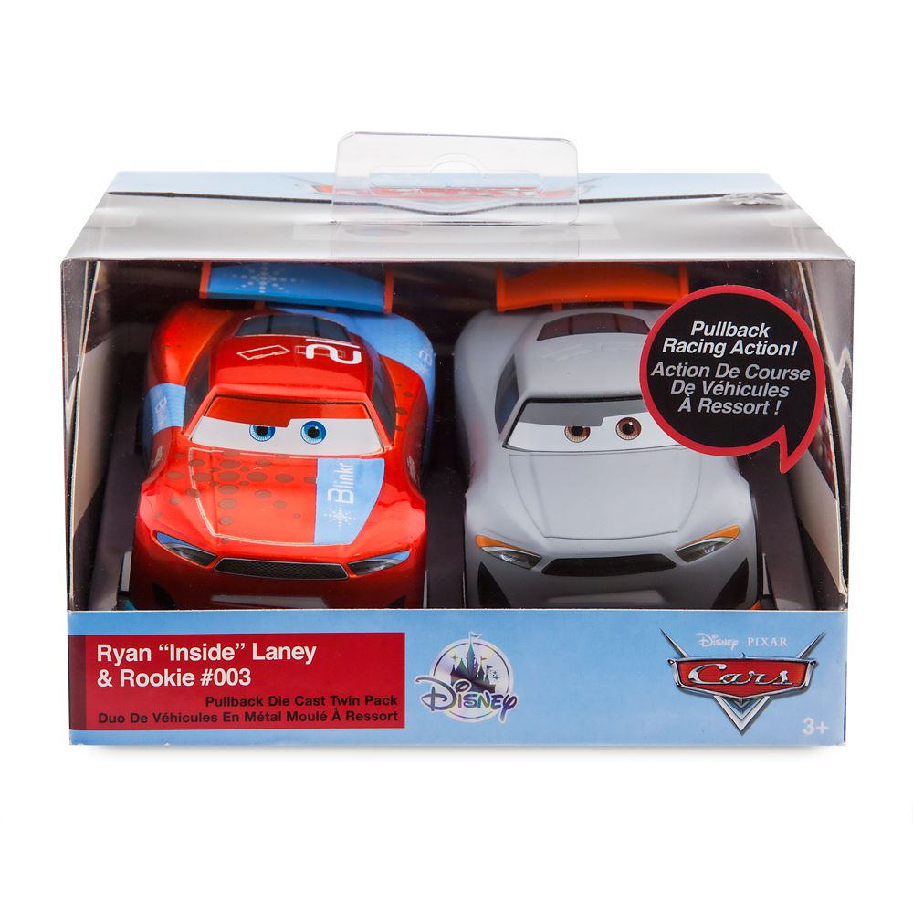 Ryan ''Inside'' Laney and Rookie #003 Pull 'N' Race Die Cast Set – Cars