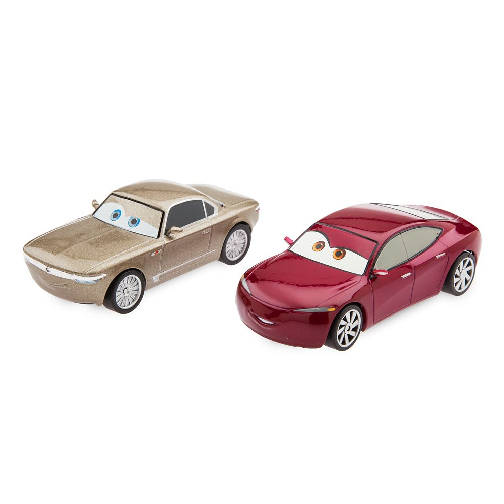 Sterling and Natalie Certain Pull 'N' Race Die Cast Set – Cars