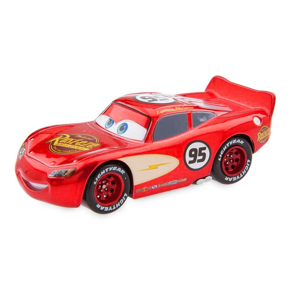 Lightning McQueen Pull N Race Die Cast Car - Cars