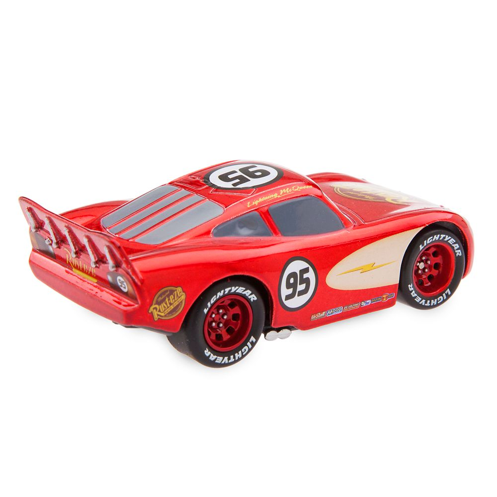Lightning McQueen Pull 'N' Race Die Cast Car – Cars