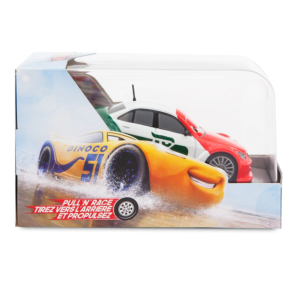 Memo Rojas Jr. Pull 'N' Race Die Cast Car – Cars