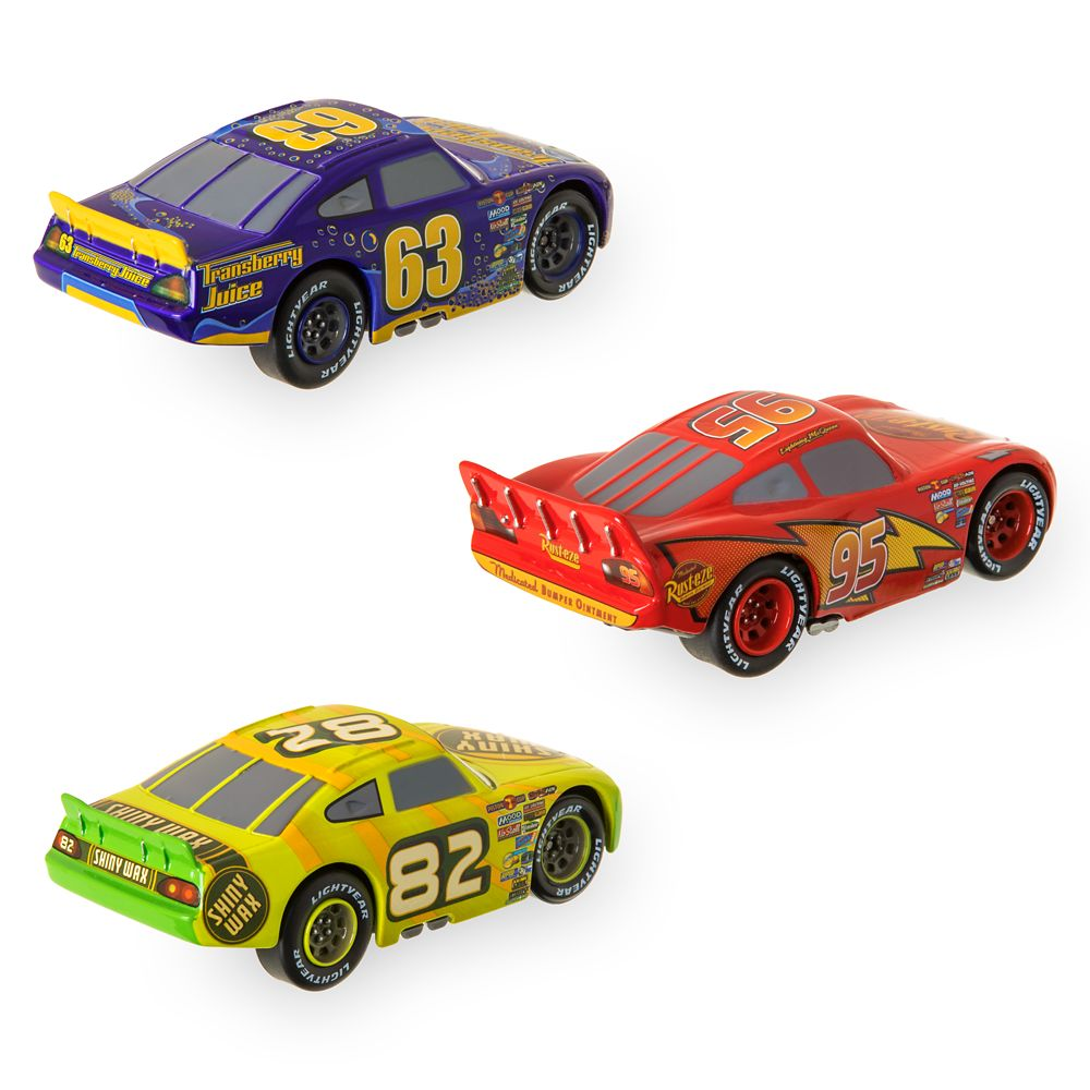 Cars ''Old-Gen'' Racers Pullback Die Cast Set
