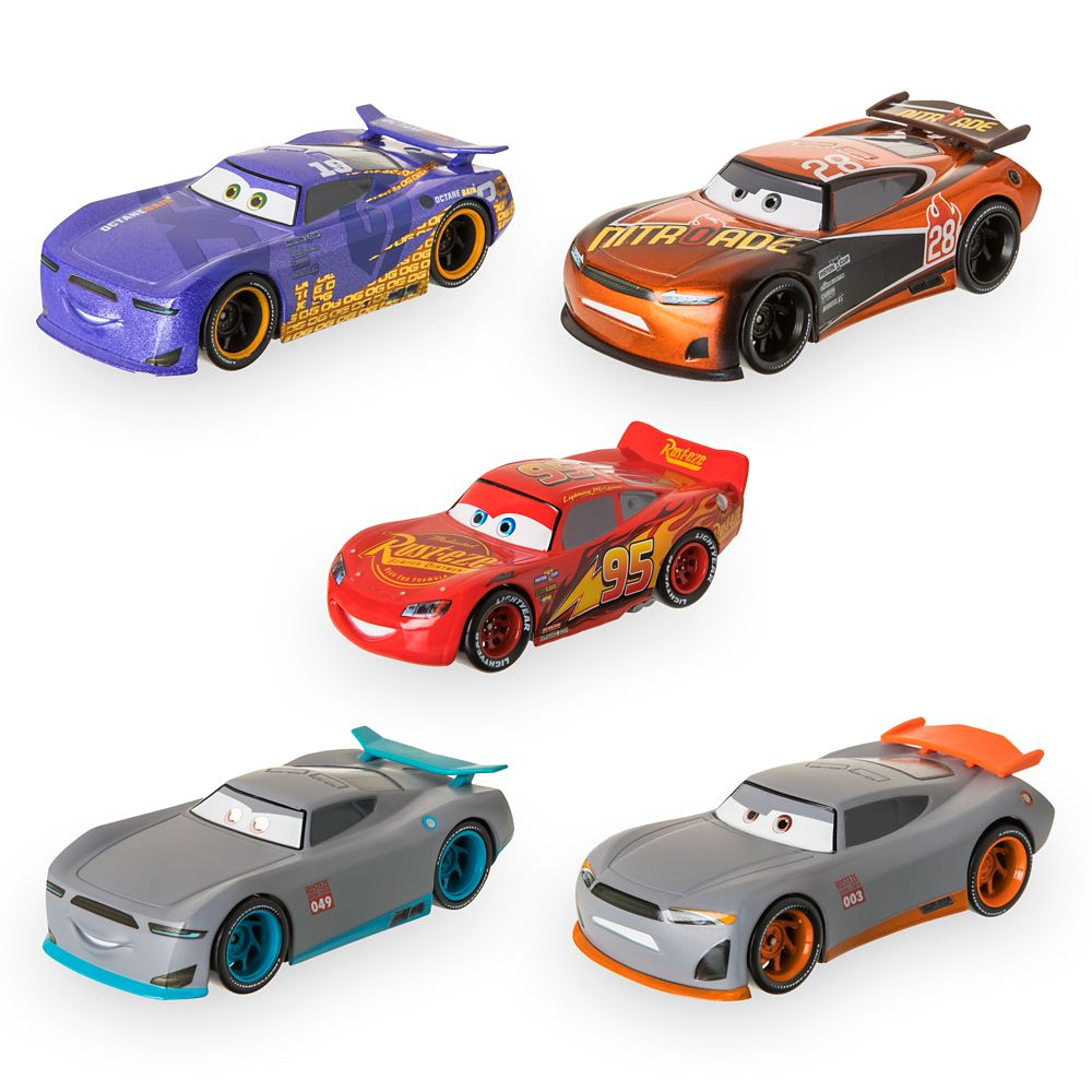 Cars Next Gen Racers Pullback Die Cast Set Shopdisney
