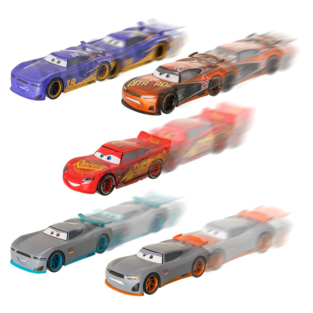 Cars ''Next-Gen'' Racers Pullback Die Cast Set
