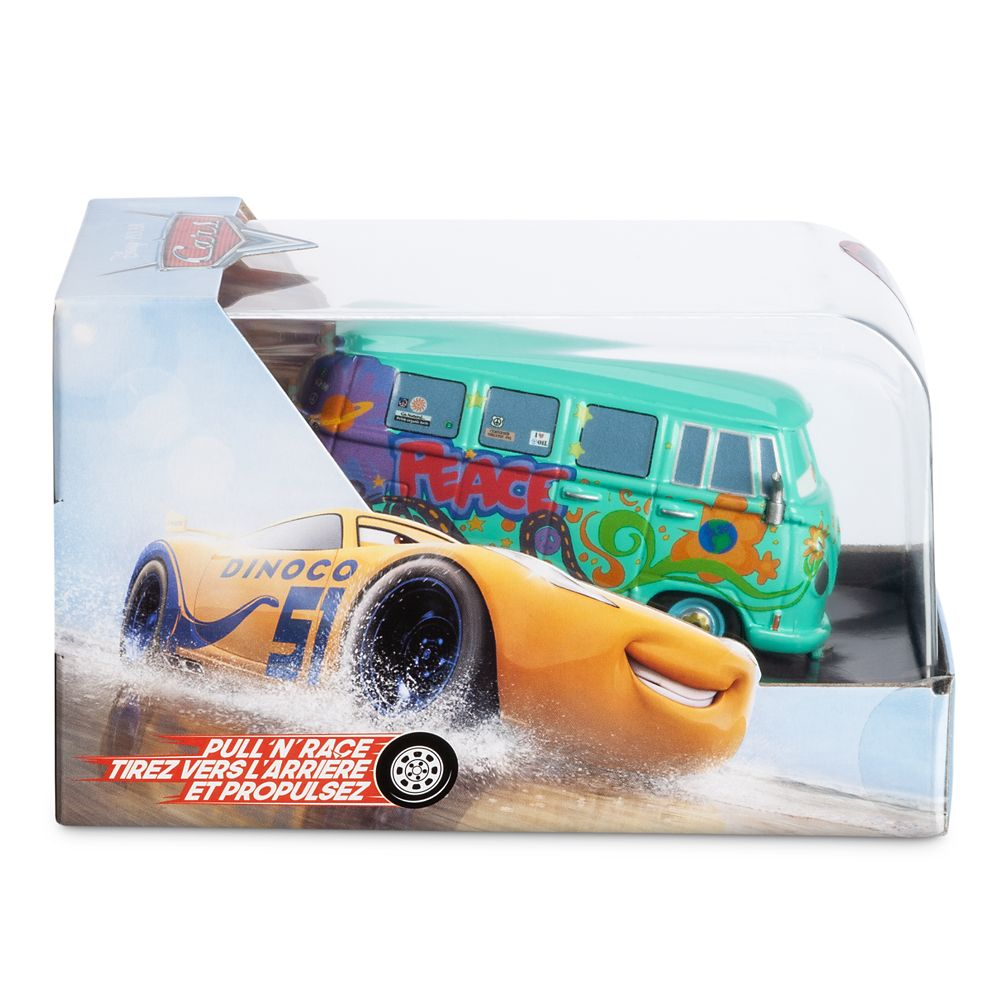 Fillmore Moon Pull 'N' Race Die Cast Car – Cars
