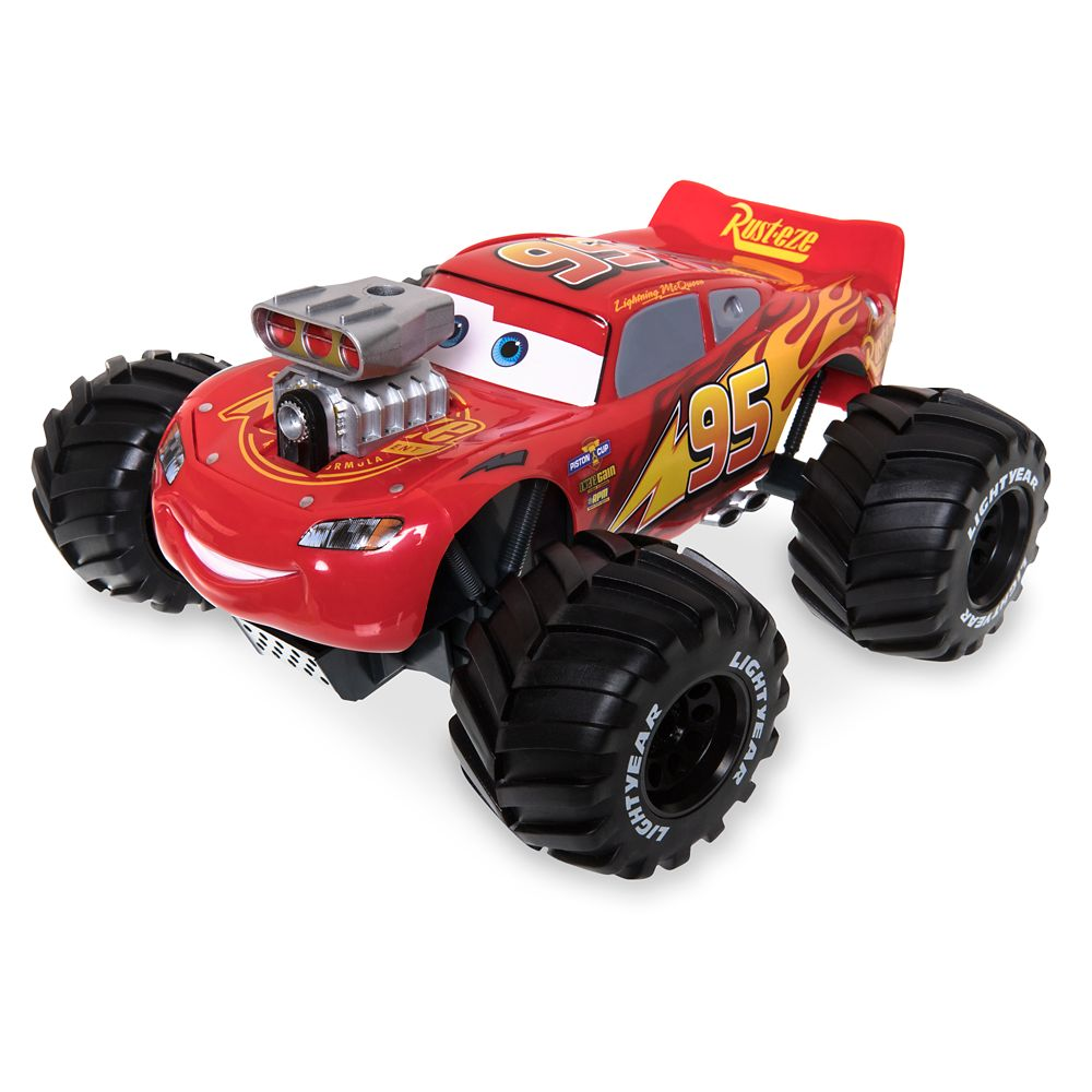 Lightning McQueen Build to Race Remote Control Car – Cars