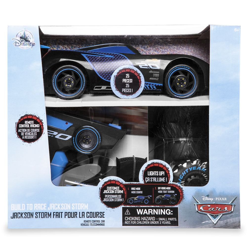 Jackson Storm Build To Race Remote Control Car Cars Shopdisney