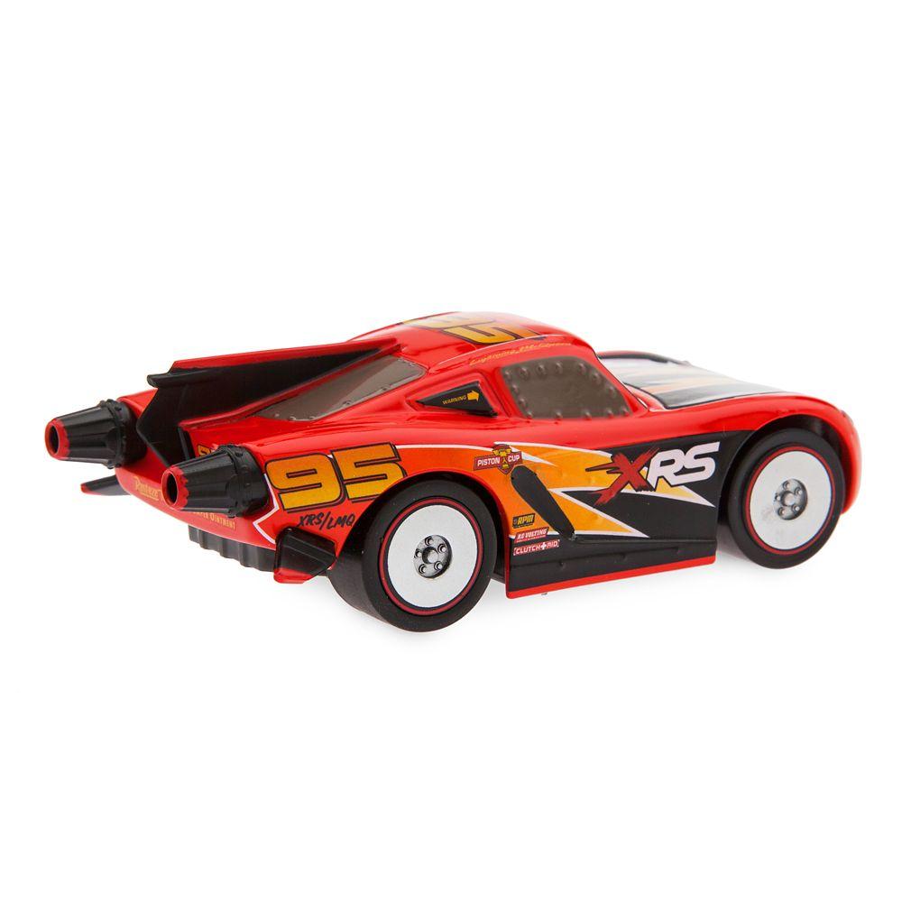 Lightning McQueen Rocket Racer Pull 'N' Race Die Cast Car – Cars