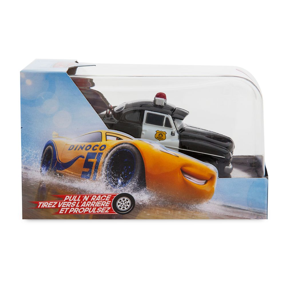 Sheriff Pull 'N' Race Die Cast Car – Cars