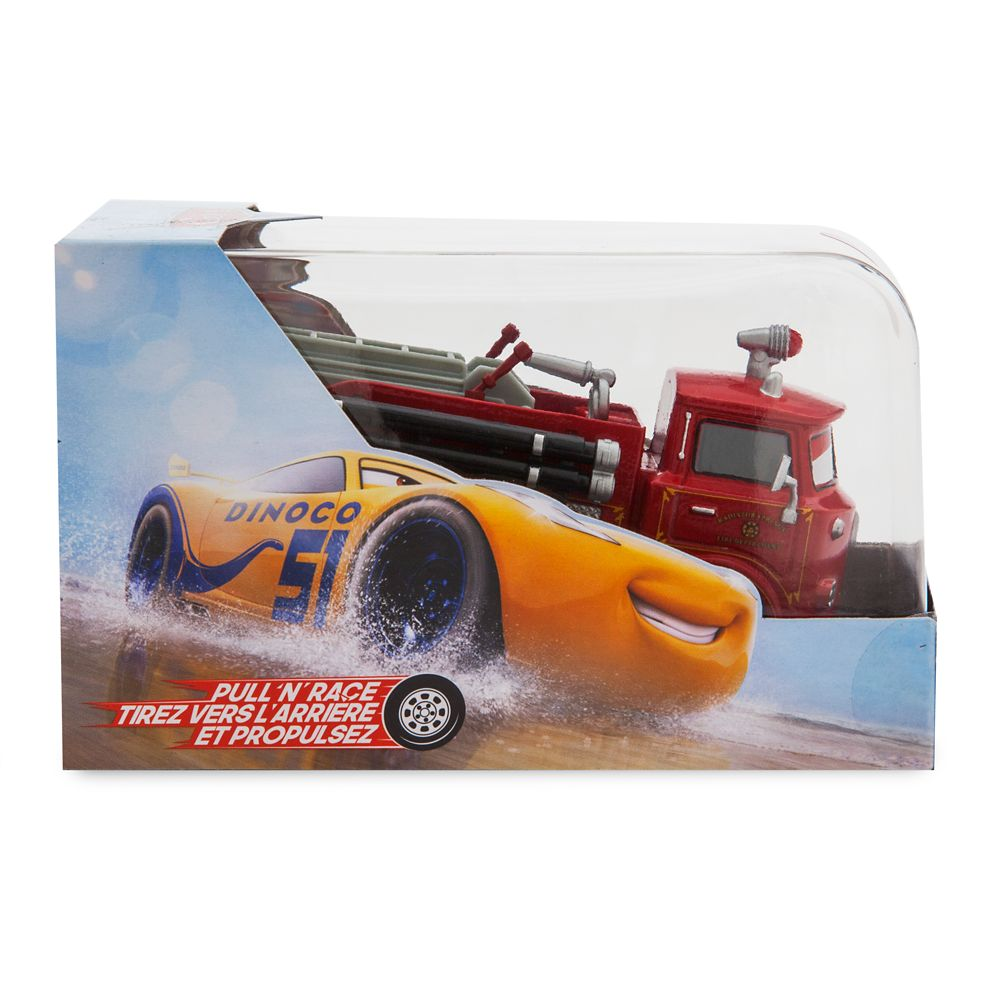 Red Pull 'N' Race Die Cast Car – Cars