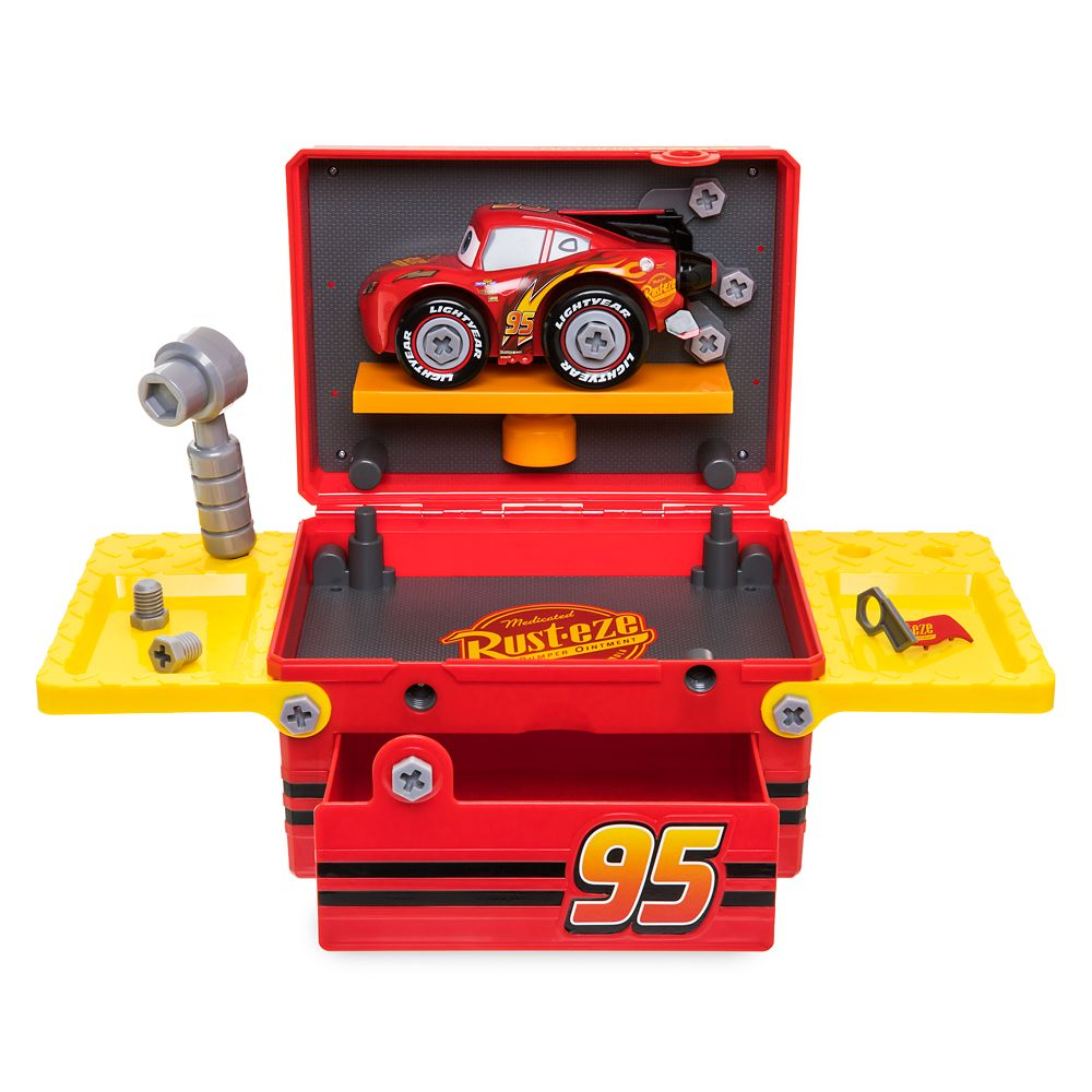 Cars Mechanic Play Set