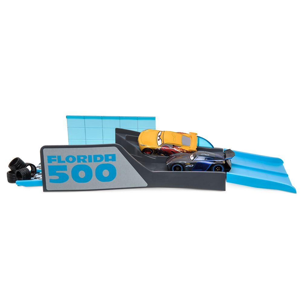 Cars Florida 500 Mini Stunt Set