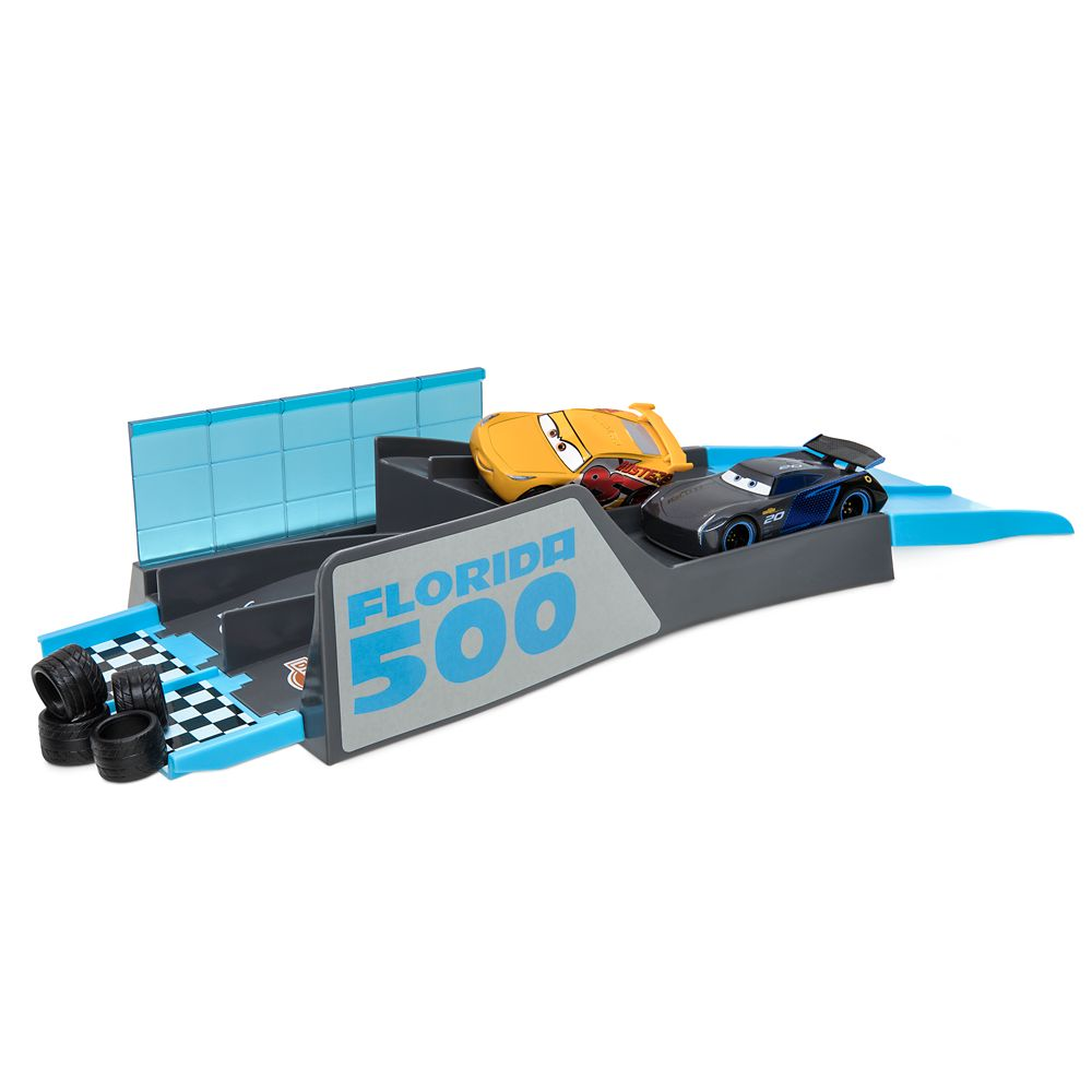 Cars Florida 500 Mini Stunt Set