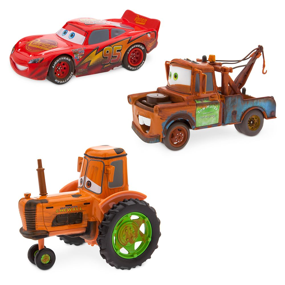 Radiator Springs Pull 'N' Race Die Cast Set – Cars