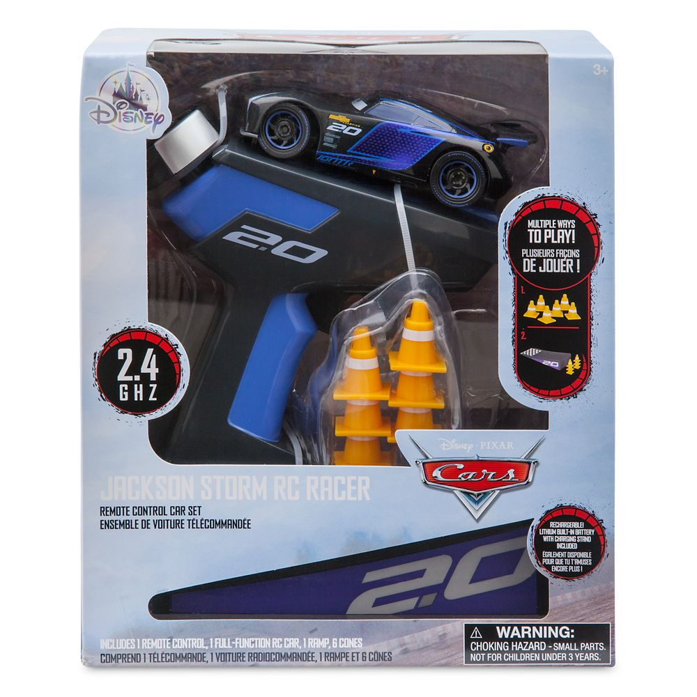 Jackson Storm RC Racer Remote Control Car Set