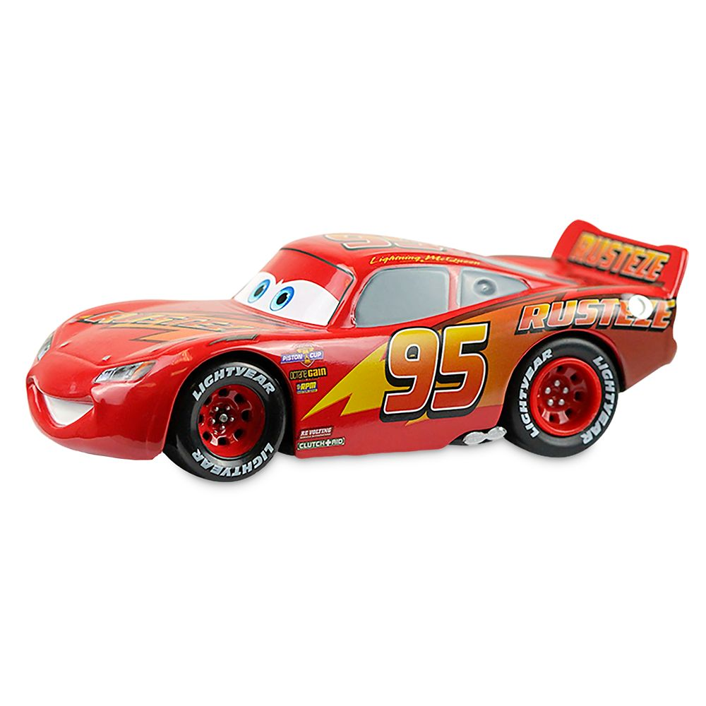 Lightning McQueen Pull 'N' Race Die Cast Car – Cars