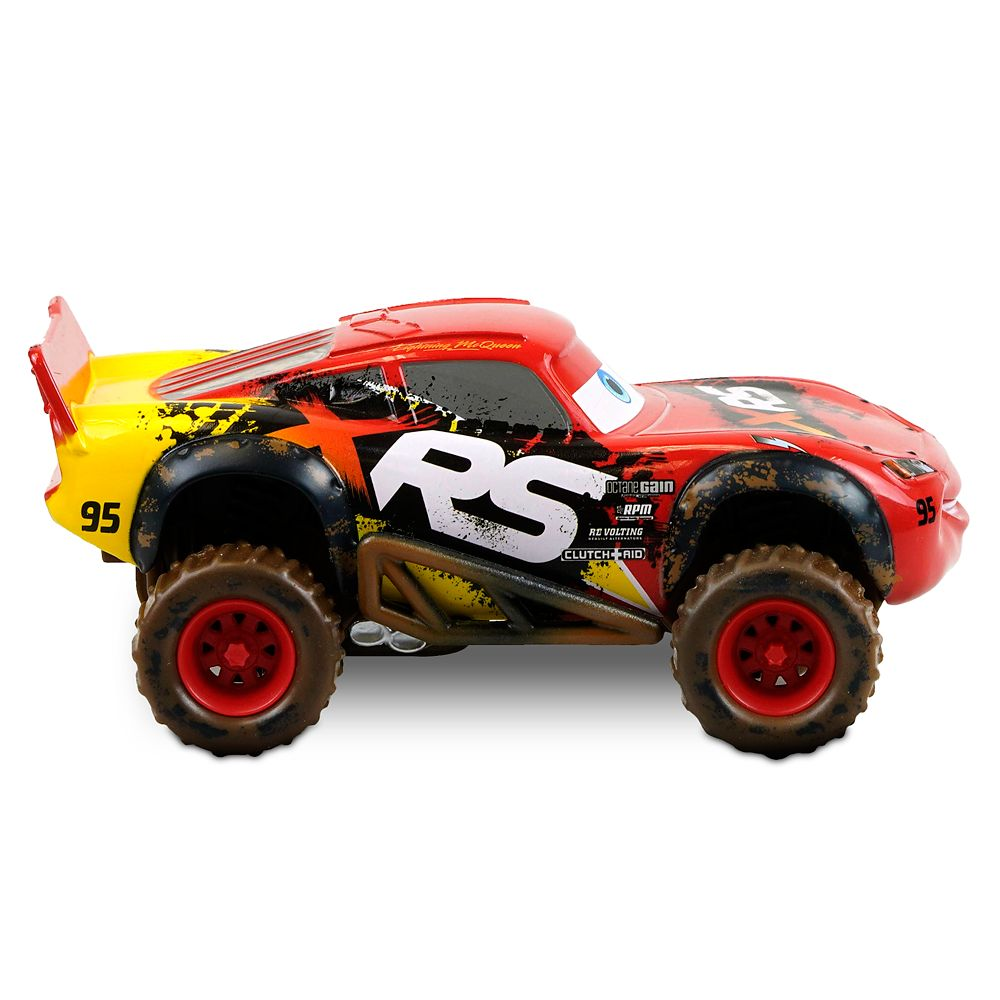 Lightning McQueen Die Cast Pullback Mud Racer – Cars