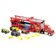 Mack Carrier & Mud Wash Cars Play Set