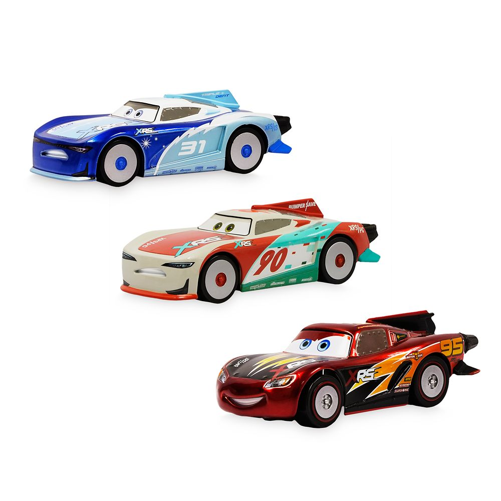 Cars ''Rocket Racers'' Pullback Die Cast Set