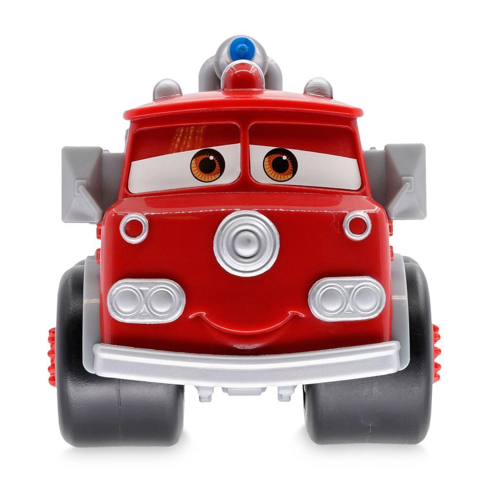 Red Fire Engine Bath Play Set – Cars