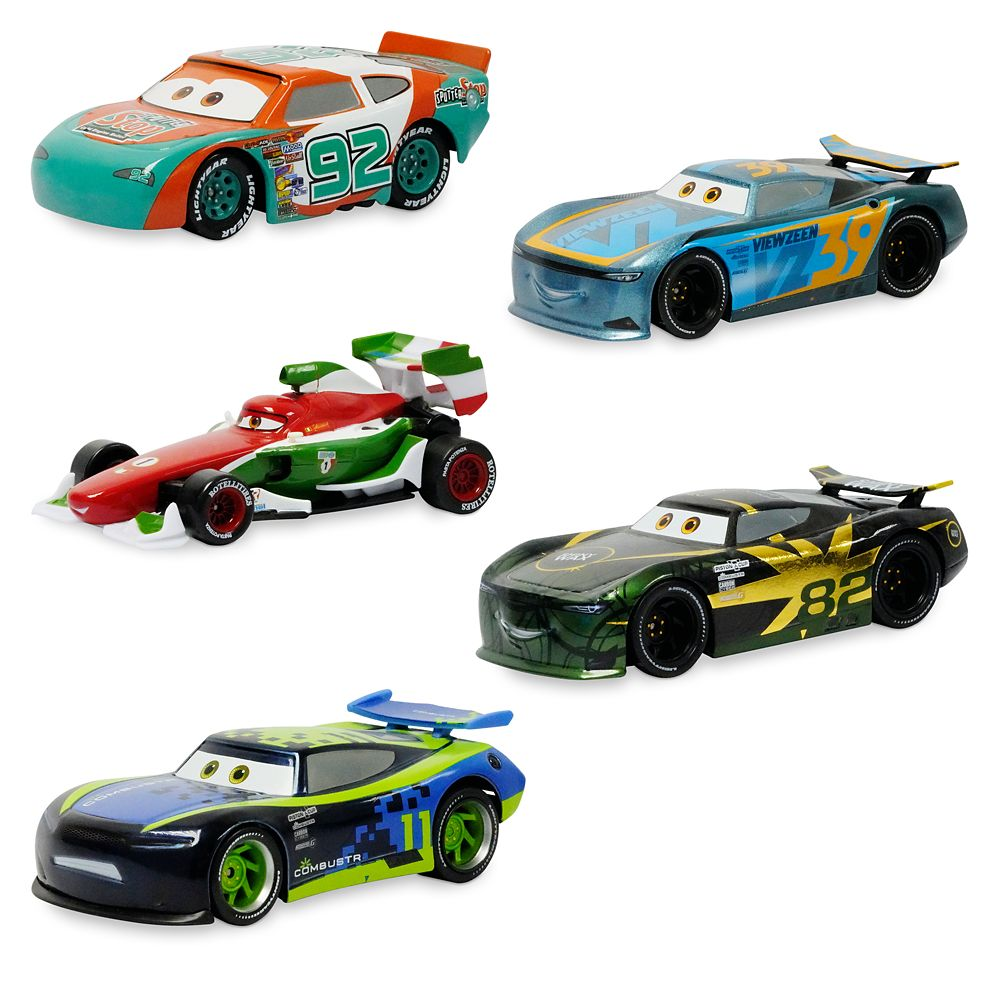 Cars Pullback Die Cast Racer Multi Pack