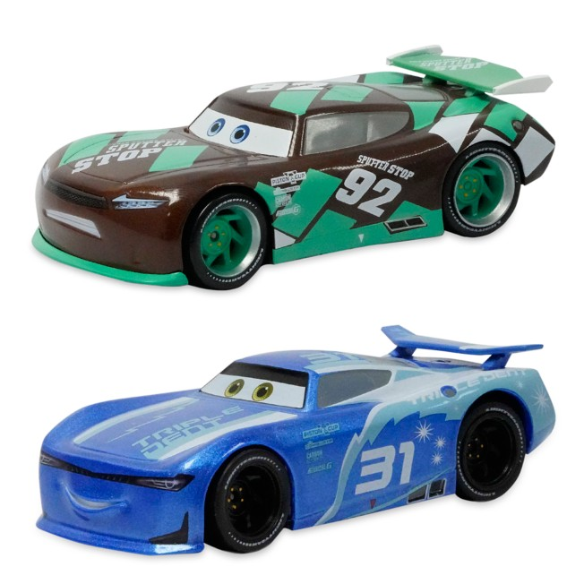 Cam Spinner and Sheldon Shifter Pullback Die Cast Twin Pack – Cars