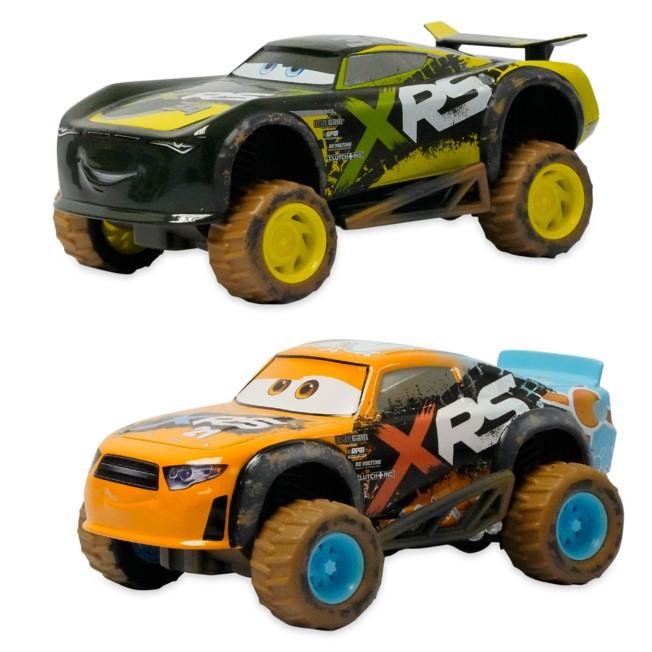 Speedy Comet and Steve ''Slick'' LaPage Pullback Mud Wash Die Cast Twin Pack – Cars