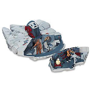 Disney Store Millennium Falcon Battle Action Play Set  -  Star Wars: The