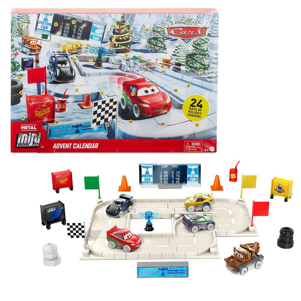 Cars Mini Racers Advent Calendar by Mattel