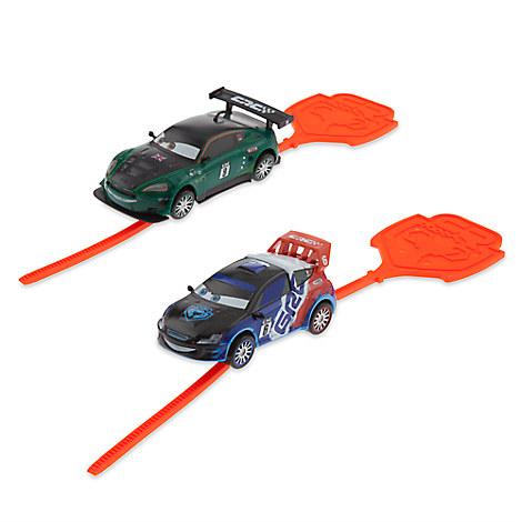 Cars Rip N' Release Racers Play Set - Nigel Gearsley and Raoul ÇaRoule
