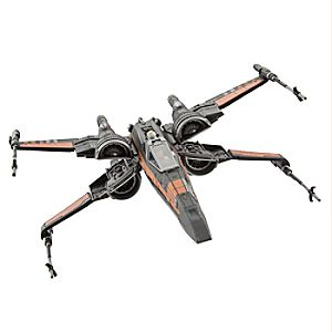 Poe Dameron and X-Wing Fighter Set - Star Wars: The Last Jedi 6102056072213P