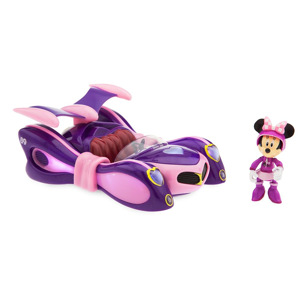 Minnie Mouse Light-Up Racer – Mickey and the Roadster Racers