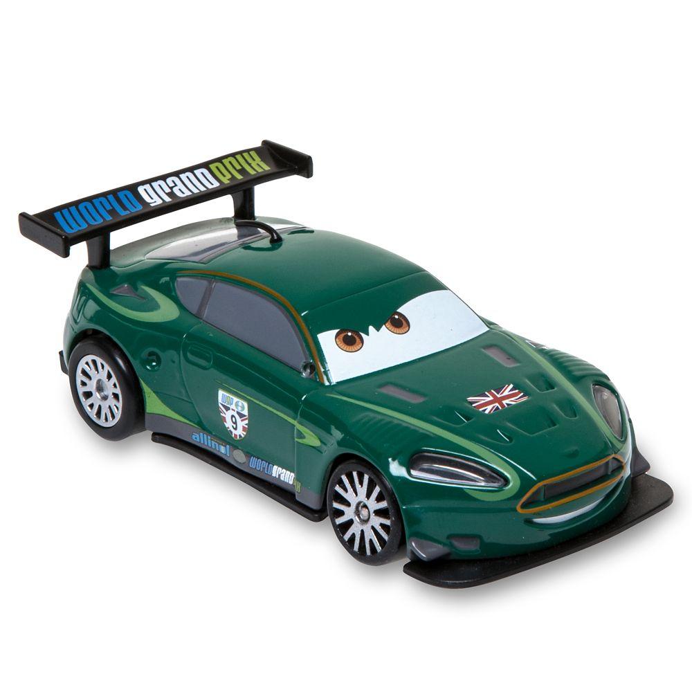 Cars London Raceway Launcher Case with Nigel Gearsley